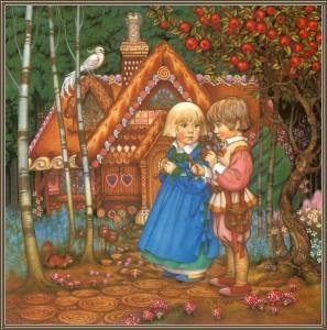 Гензель и Гретель (сказка), рисунок