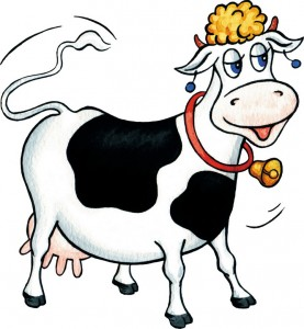 Корова, клип-арт, jpg